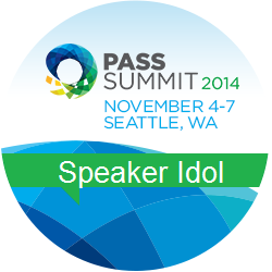 Speaker Idol 2014 Badge
