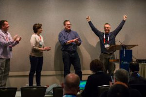 Peter Kral wins the PASS Summit Speaker Idol 2016 competition